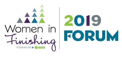 2019 Women in Finishing FORUM Logo